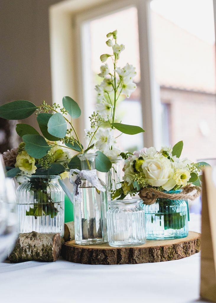 Tischdeko-Hochzeit-vintage