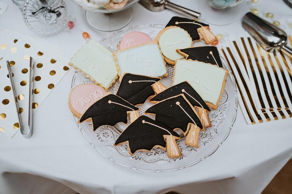 Abifeier-Wildeshausen-Kekse-Cookies-Doktorhut