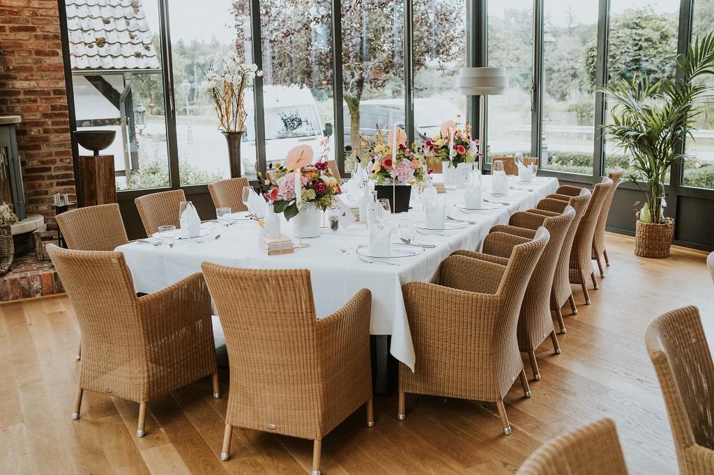 Abifeier-Wintergarten-Tischdekoration-Wildeshausen