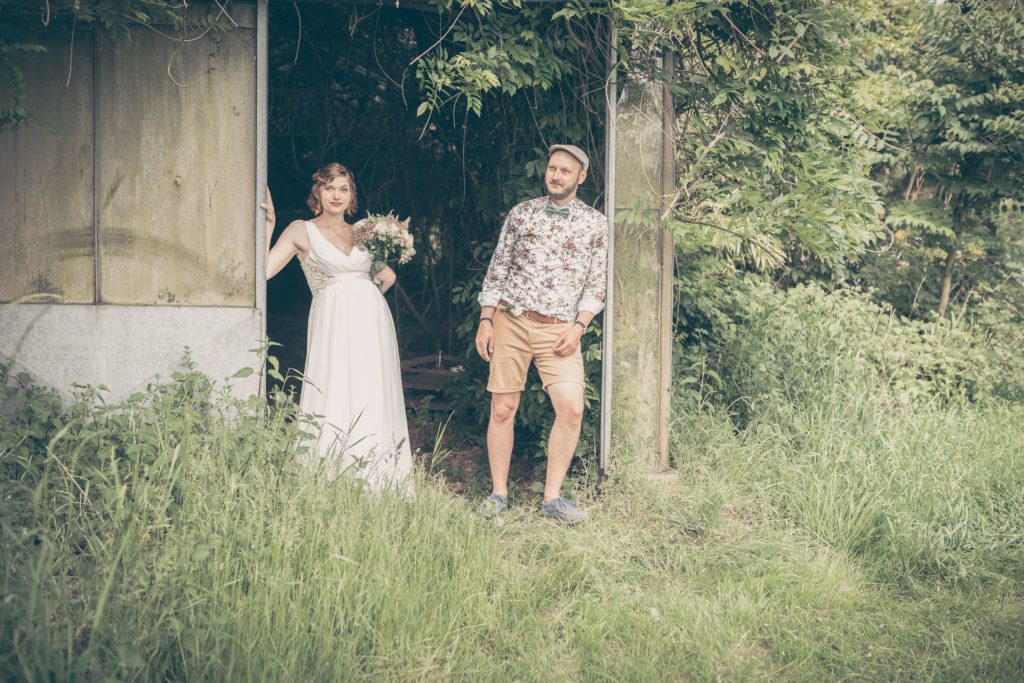 Brautpaar-Natur-Shooting